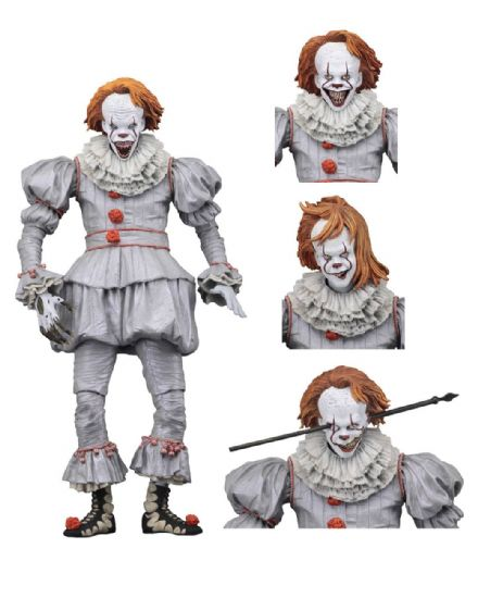 NECA Stephen King's IT 2017 Ultimate Pennywise (Well House) Action Figure 18cm